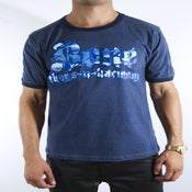 Image of Blue HC Camo Tee
