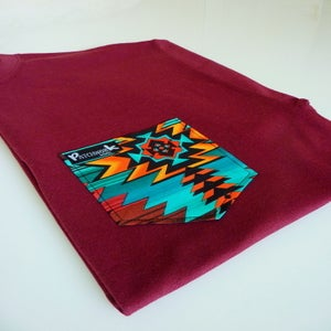 Image of Navajo Pocket T-shirt Unisex