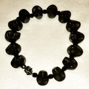 Image of Black Skull Bracelet
