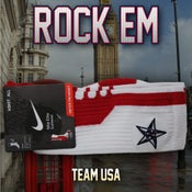 Image of Team USA Elite Socks - Red