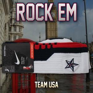 Image of Team USA Elite Socks - Navy