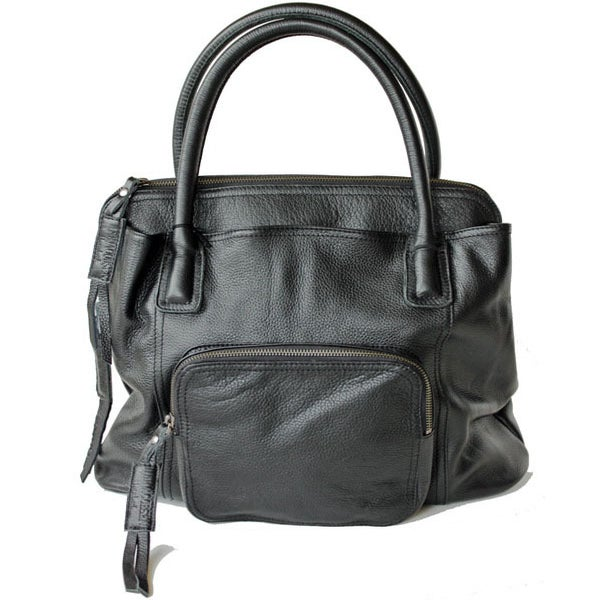 Image of Ilse Jacobsen Classic Leather Bag (Black)