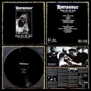 Image of HARASSOR - Night On My Side (The Bruno Sessions) LP