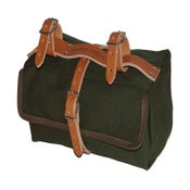 Image of Moss Saddlebag | 18oz Cotton Duck | Olive Drab