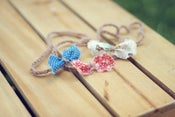 Image of Summertime Halo Set--3 Dainty Bow Halos