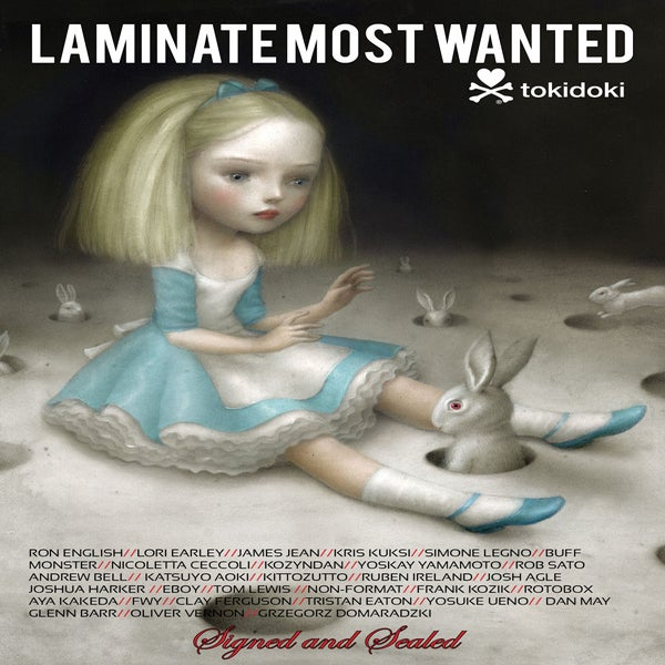 """Image of LAMINATE 4 """"Most Wanted"""" Signed and Sealed"""