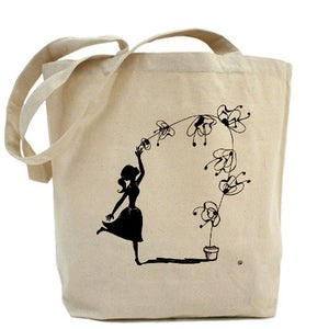 Image of ORCHID DREAM canvas tote bag
