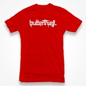 Image of Butterthief TShirt (Mens Red)