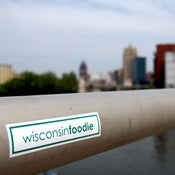 Image of Wisconsin Foodie Sticker