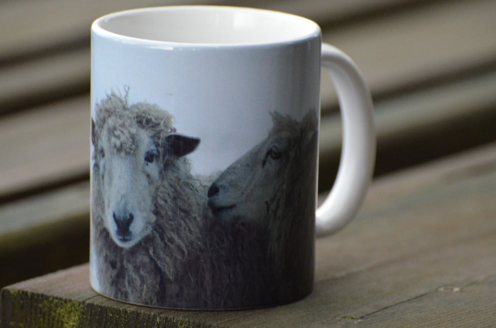 Image of Gossiping Sheep Mug