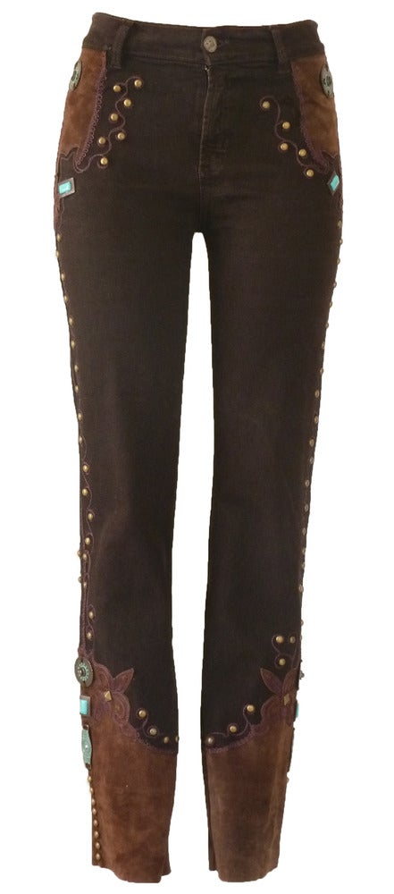 Image of Chocolate Murano Jeans 6W5059P