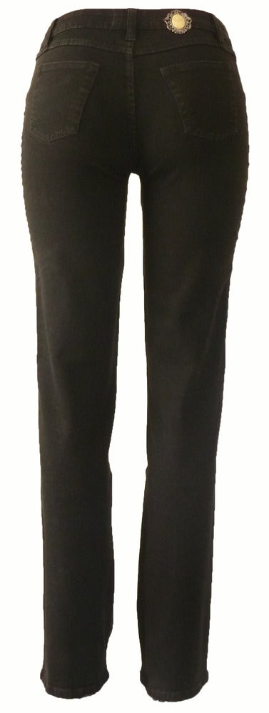 Image of Espresso 'Rose Dandelion' Jeans 11W2504P