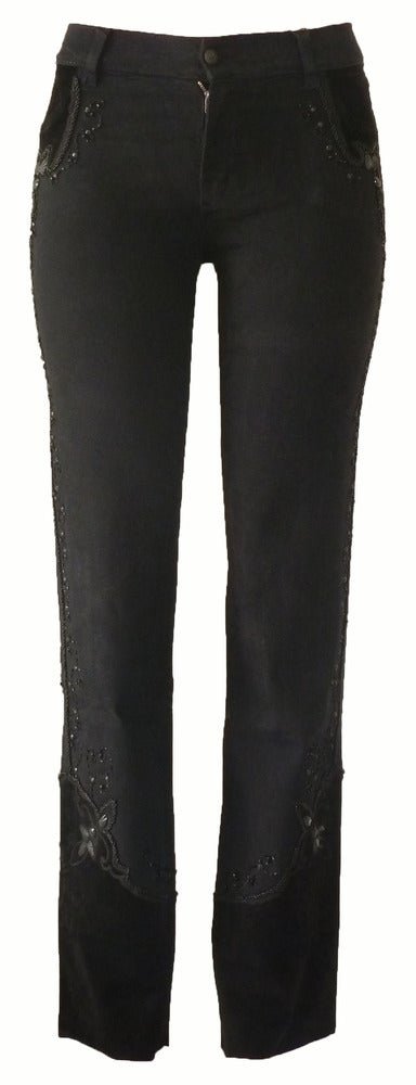 Image of Black 'Holiday' Jeans 7W4046P
