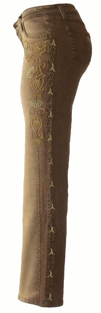 Image of Castor 'Gold Dandelion' Jeans 8S1028CASTP