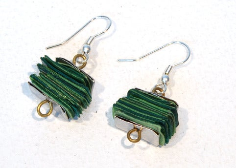 Image of Canny book earrings