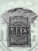 Image of Emblem Grey Tee