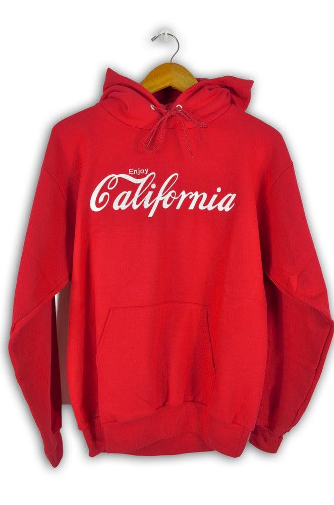 Image of Enjoy California Red Hoodie