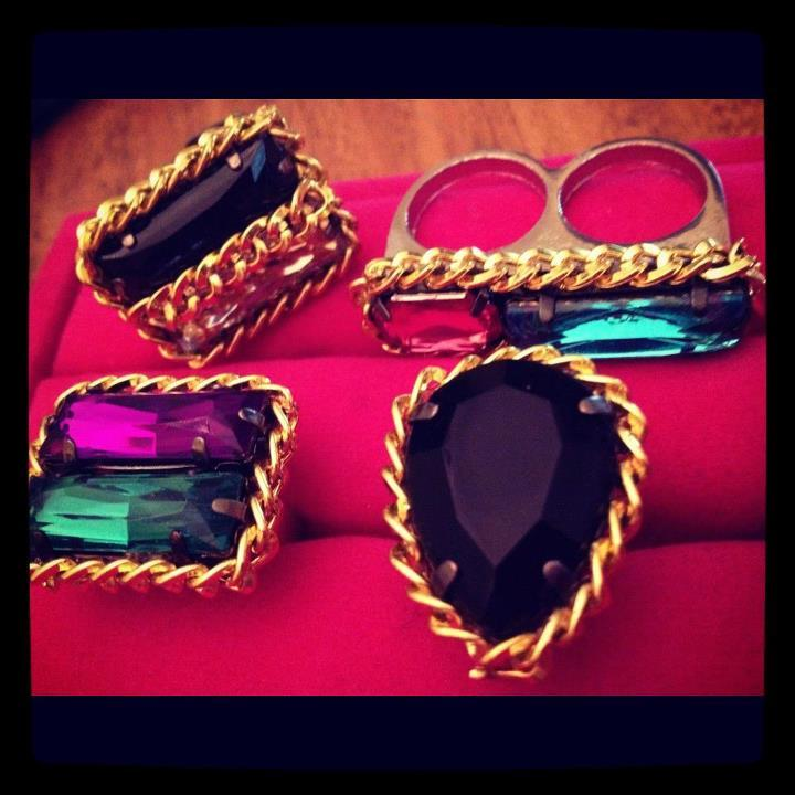 Image of Cheryl's Dope 2 Layer Chain Gems