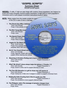 Image of Gospel Scripts
