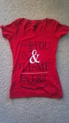 Image of You Do You Deep Scoop Neck RED