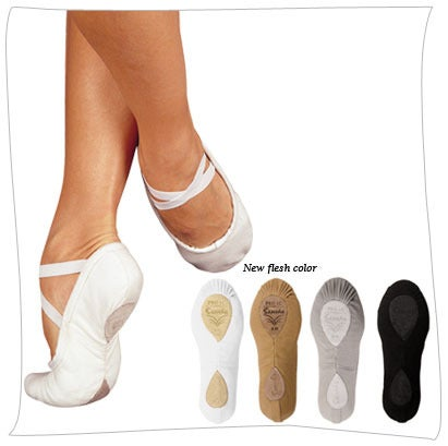 Image of Sansha Pro 1C Canvas Ballet Slippers