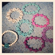 Image of Assorted gemstone bracelets