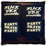 Image of Black Deck BEER KOOZIE