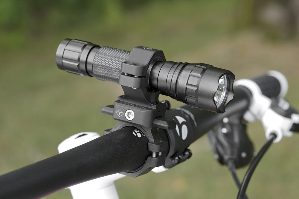 Image of SINGLE LIGHT HANDLEBAR MOUNT SYSTEM