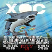 Image of Xoc: The Journey of a Great White Poster - Signed and Numbered!