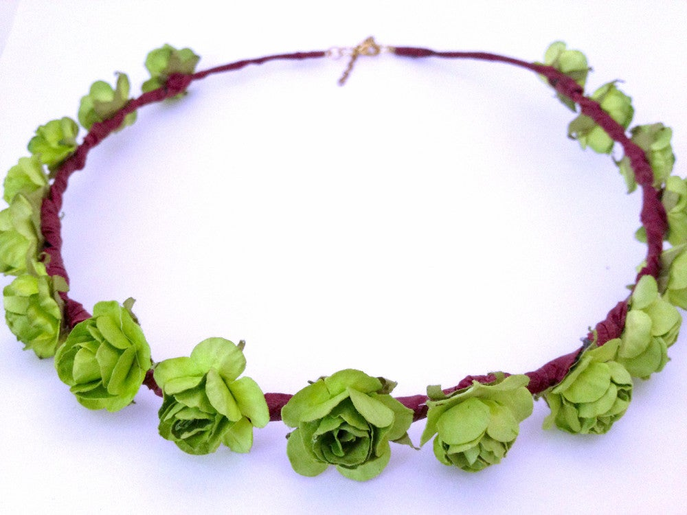 Image of Menta Dulce Floral Crown