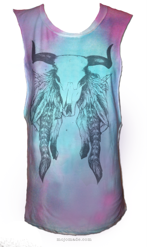 "Image of ""Mountain Dreamer"" MIDNIGHT OMBRE TIE-DYE T-Shirt"