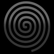 Image of Spiral Tee - Black