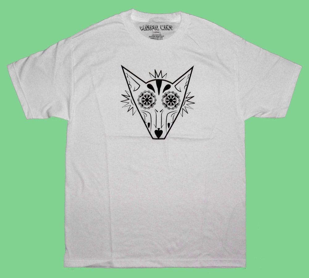 "Image of ""Sugar Fox"" Tee in White"