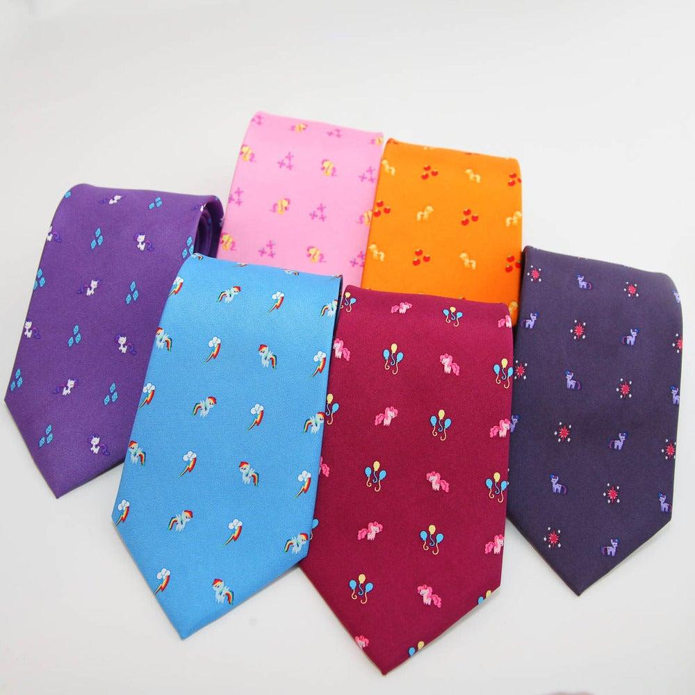 my ties the elements of harmony mane six tie set