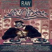 Image of Raw :: Mixology Gig Poster
