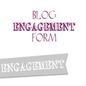 Image of Engagement Blog Form