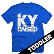 Image of KY Raised Toddler in KY Blue & White