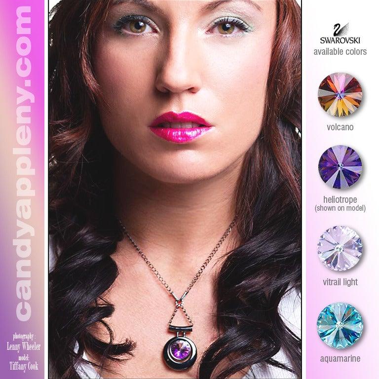 Image of *NEW* Atomic Sphere Swarovski Necklace