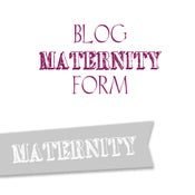 Image of Maternity Blog Form