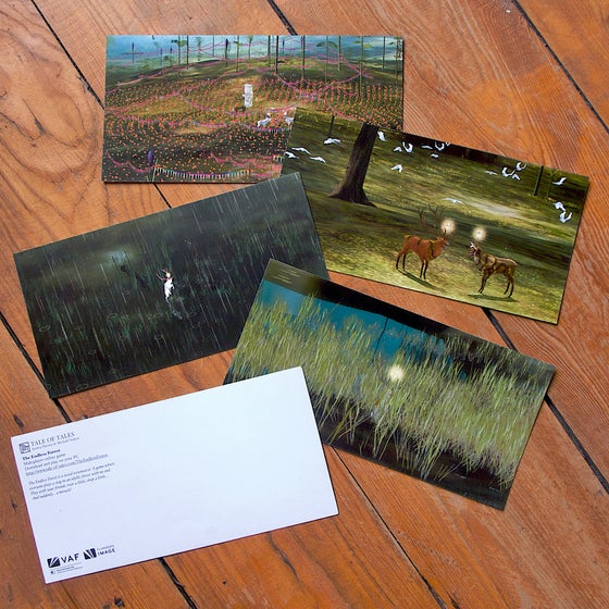 Image of The Endless Forest - set of 4 postcards