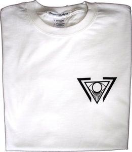 Image of White Logo Tee