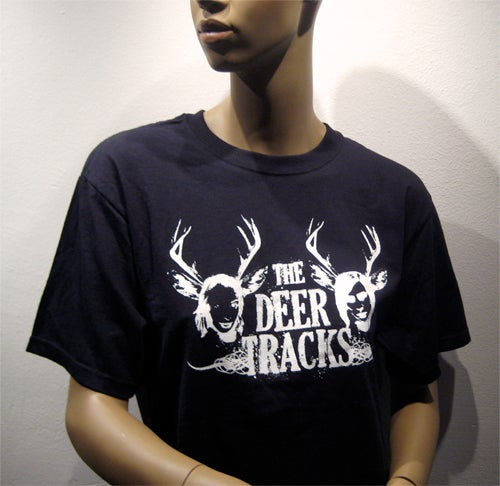 Image of The Deer Tracks [Black T-shirt]