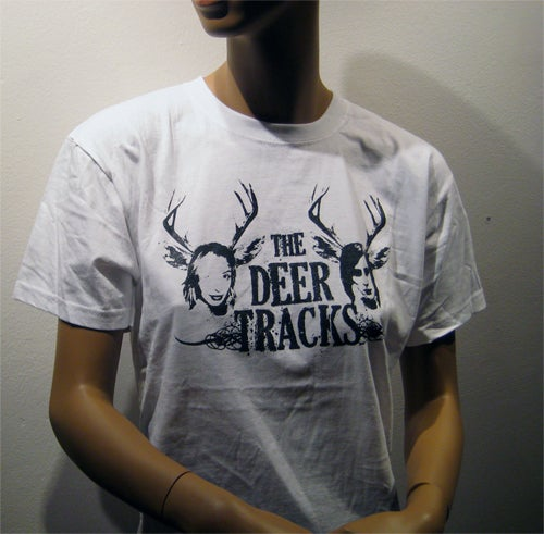 Image of The Deer Tracks [White T-shirt]