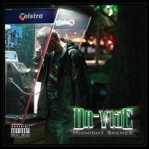 """Image of DA-VISE """"Midnight Skemes"""" CD"""