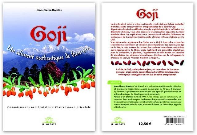 """Image of Livre """"Goji, un aliment authentique de Bien-Être"""