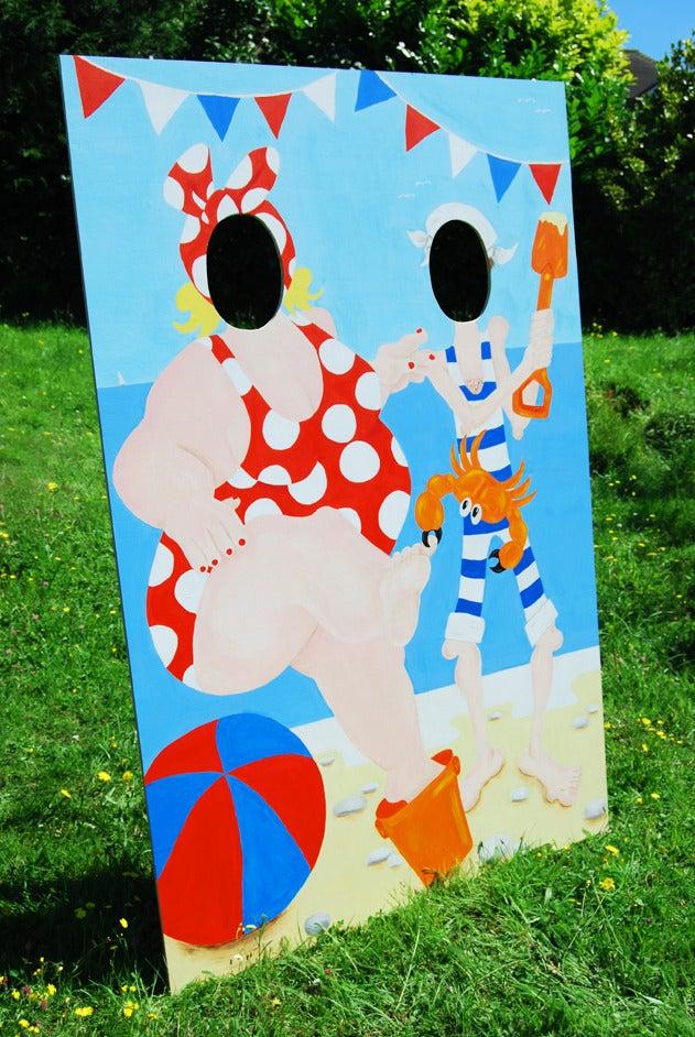 Image Of Fun Vintage Style Seaside P Board