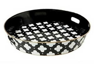 Image of Coptic Black Serving Tray 50% off
