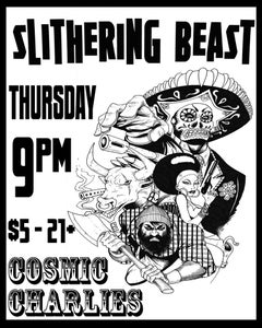 Image of Slithering Beast flyer shirt