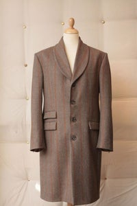 "Image of ""Mr Fox"" shawl collar overcoat"