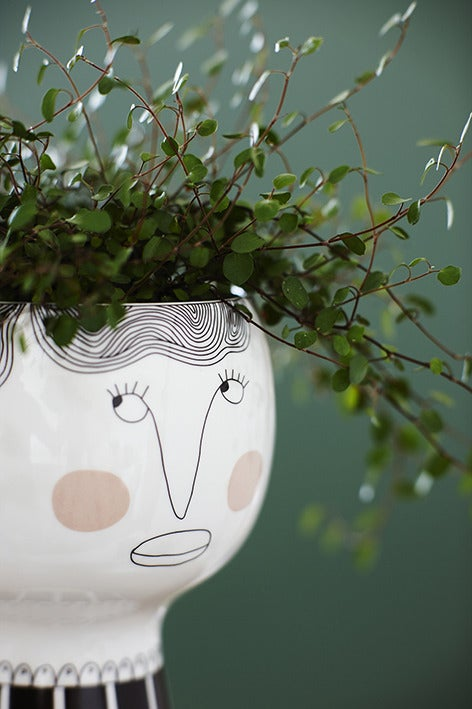 Image of Flower me happy pot - Henrietta